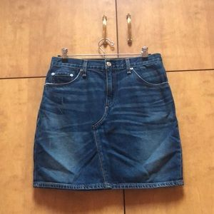 Rag & Bone jeans midi skirt!